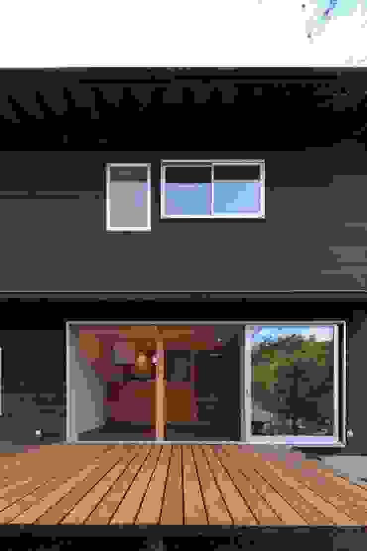 デッキ オリジナルな 家 の 早田雄次郎建築設計事務所/Yujiro Hayata Architect & Associates オリジナル