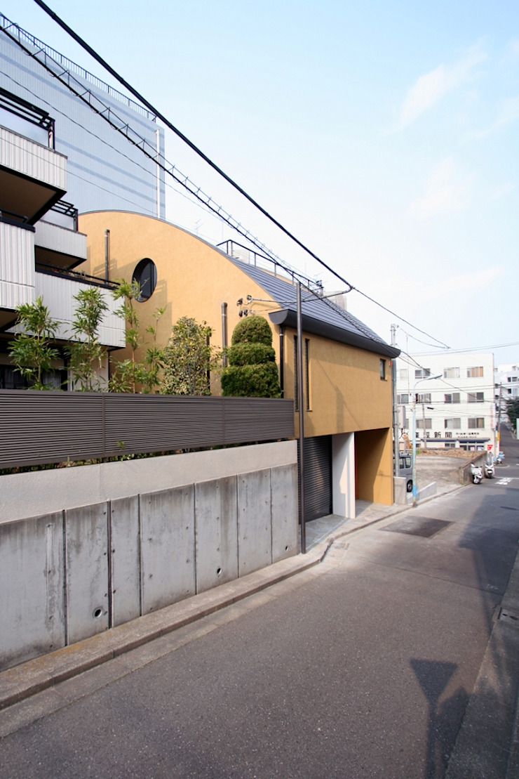 外観 モダンな 家 の 中川龍吾建築設計事務所 モダン コンクリート