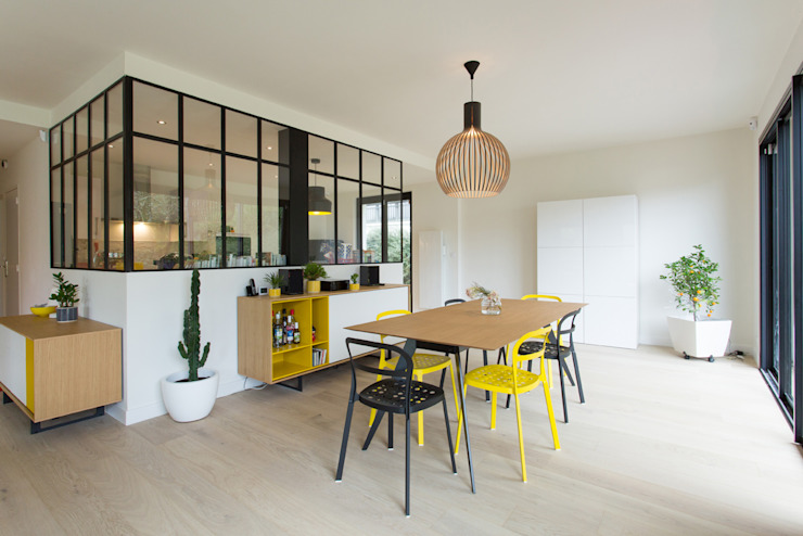 19 DEGRES Scandinavian style dining room
