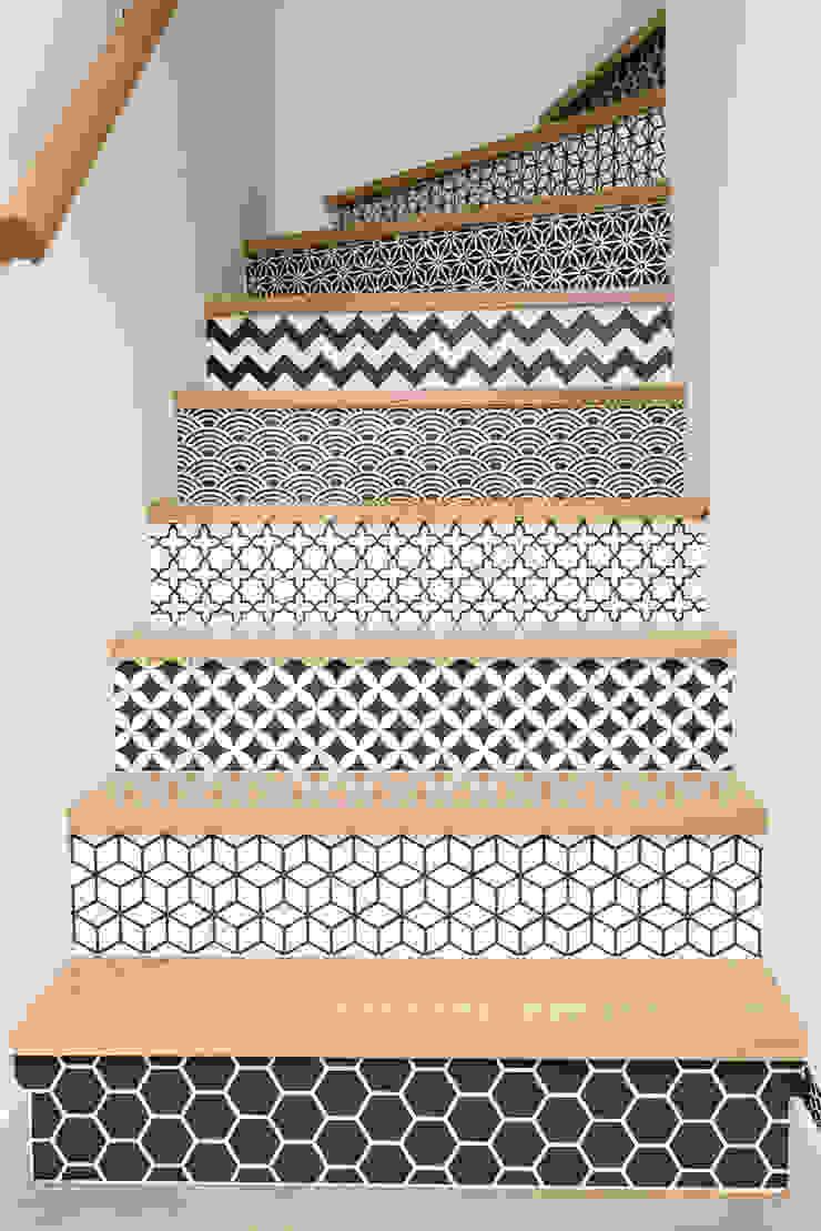 19 DEGRES Eclectic style corridor, hallway & stairs