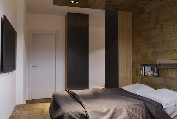 Asian style bedroom by homify Asian Wood Wood effect