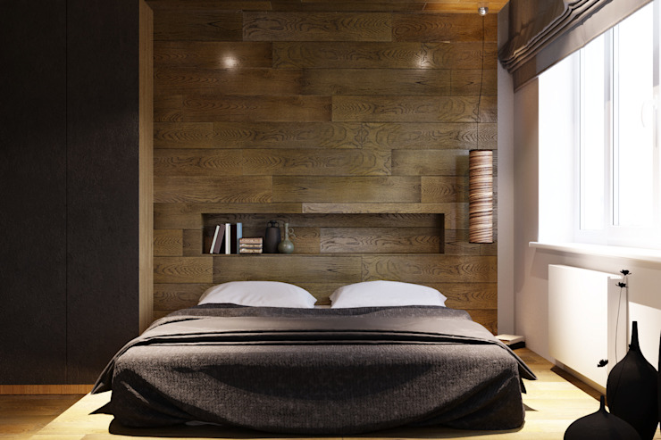 Bedroom by homify, Asian Wood Wood effect