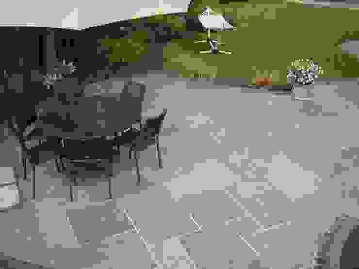 SILVER MIST NATURAL SANSTONE BARTON FIELDS PATIO & LANDSCAPE CENTRE Modern garden Sandstone Metallic/Silver