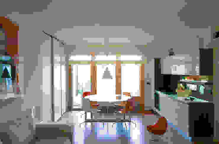 STUDIO DI ARCHITETTURA RAFFIN WohnzimmerBeleuchtung