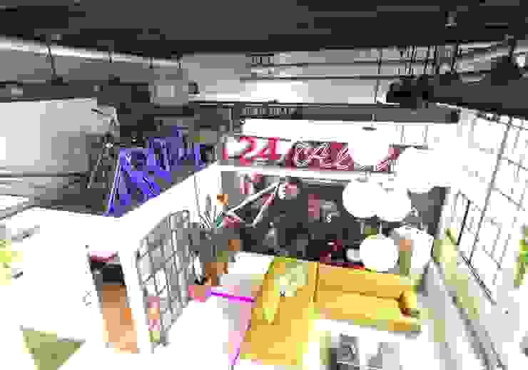 Salas / recibidores de estilo  por FM Design, Ecléctico