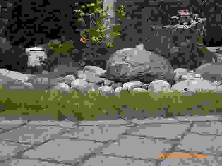 MM NATURSTEIN GMBH Taman Gaya Mediteran Batu
