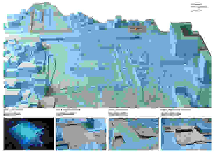Vistas da maqueta da proposta por FORA Arquitectos