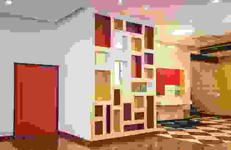 restaurante centro Espaços comerciais modernos por silvia bahia monteiro arquitetura & interiores Moderno