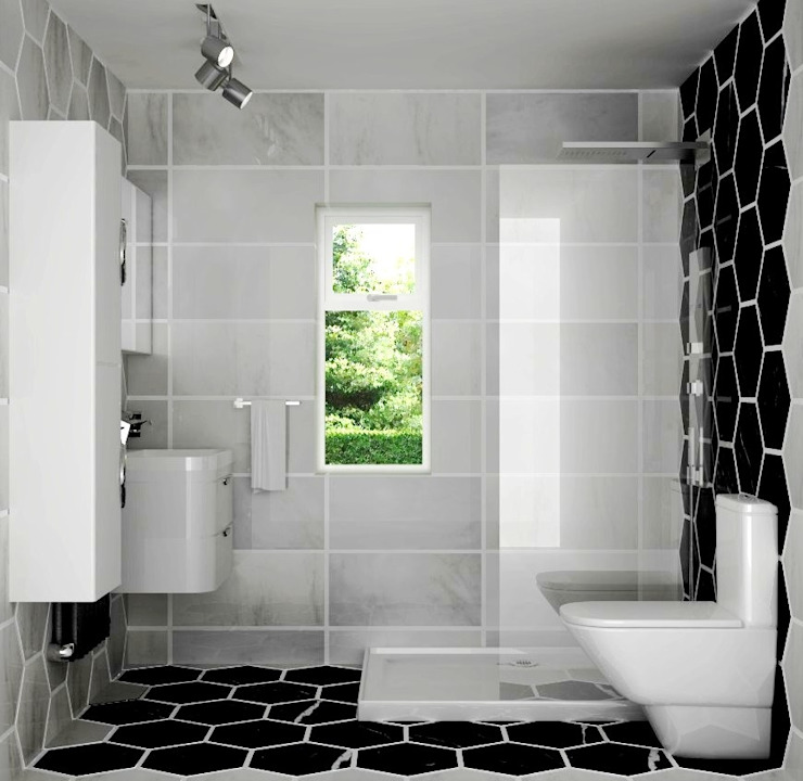 Bathroom by Lena Lobiv Interior Design,