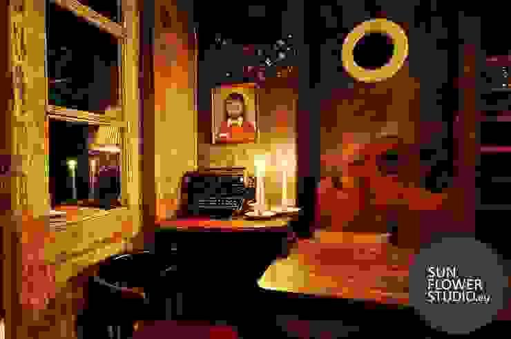 Eszeweria od Sunflower Studio Rustykalny Drewno O efekcie drewna