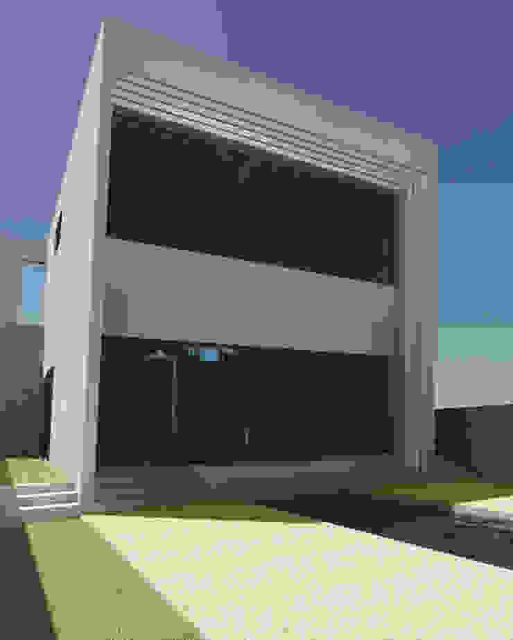 casa de vidro Casas modernas por GNC arquitetura e interiores Moderno