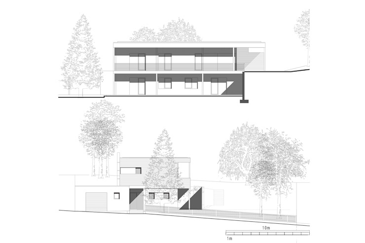 Modern Houses by Architekt Stefan Toifl Modern