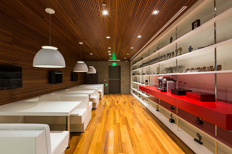 Modern commercial spaces by Athié Wohnrath Associados Modern