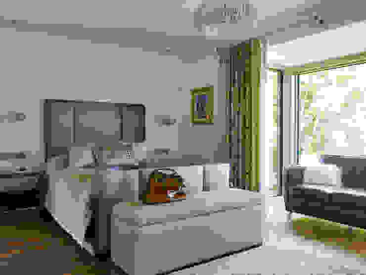 Projekty,  Sypialnia zaprojektowane przez Baufritz (UK) Ltd., Nowoczesny