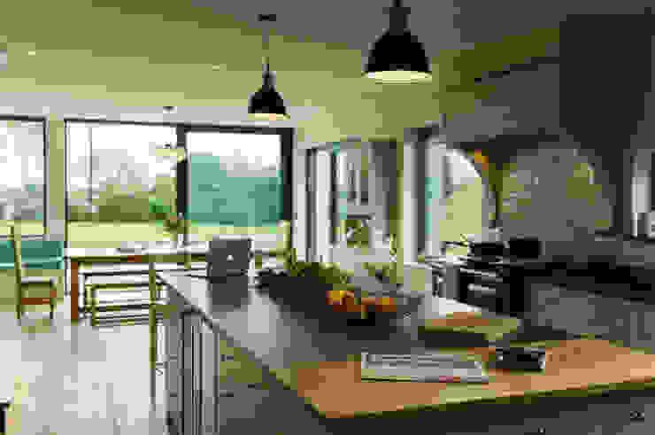 La Cherterie Modern kitchen by CCD Architects Modern