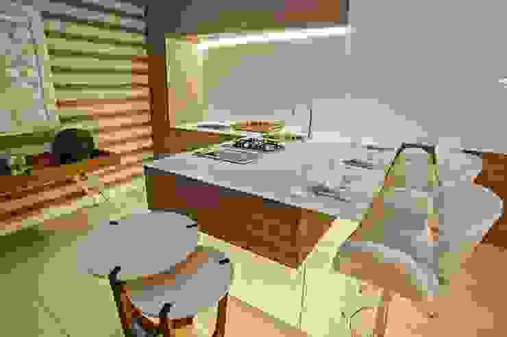 Cozinha Gourmet Cozinhas modernas por M.A.I.S. - Management. Architecture.Interior. Solutions Moderno Vidro