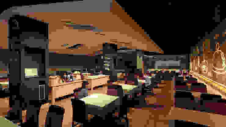 Sal Marina Resto-Bar de NOGARQ C.A. Moderno