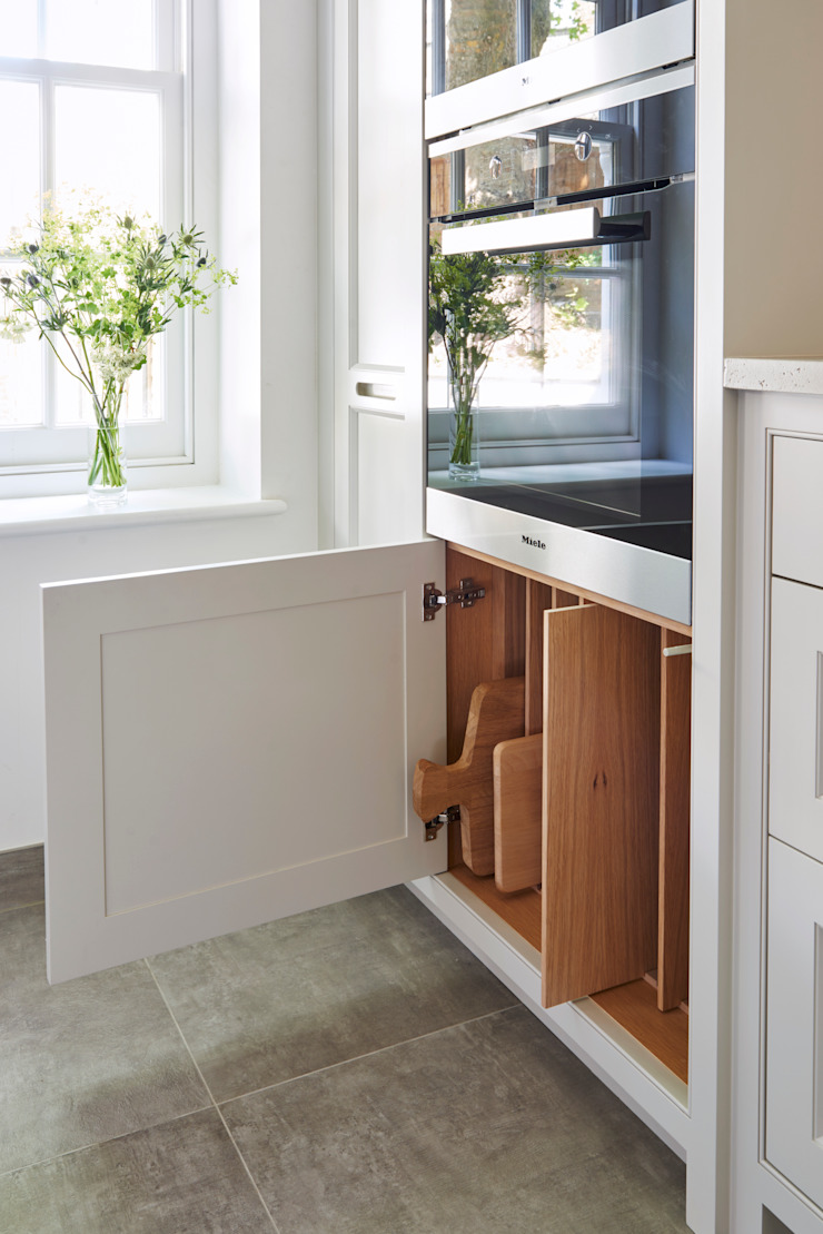 minimalist  by Holloways of Ludlow Bespoke Kitchens & Cabinetry, Minimalist Wood Wood effect
