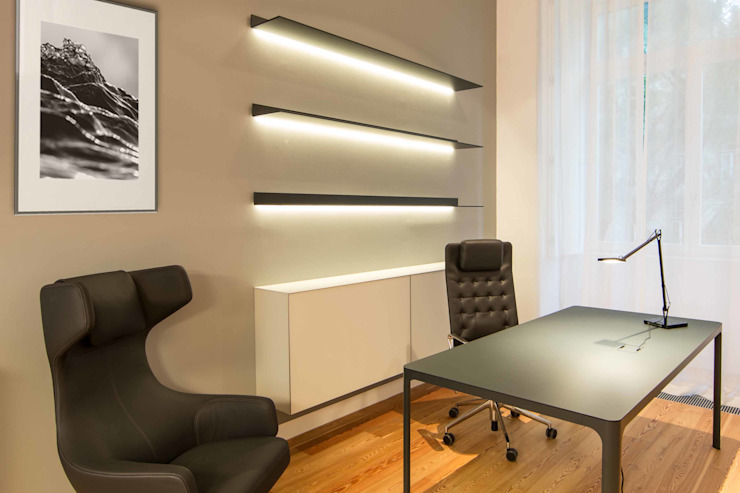 Modern study/office by Architect Your Home Modern
