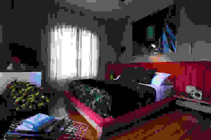 Homero 1114 Dormitorios modernos de Germán Velasco Arquitectos Moderno