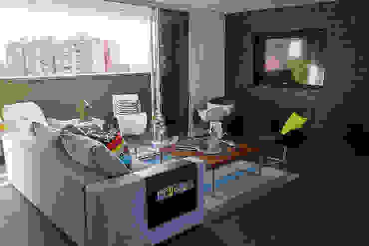 Maria Mentira Studio Modern Living Room Slate Grey