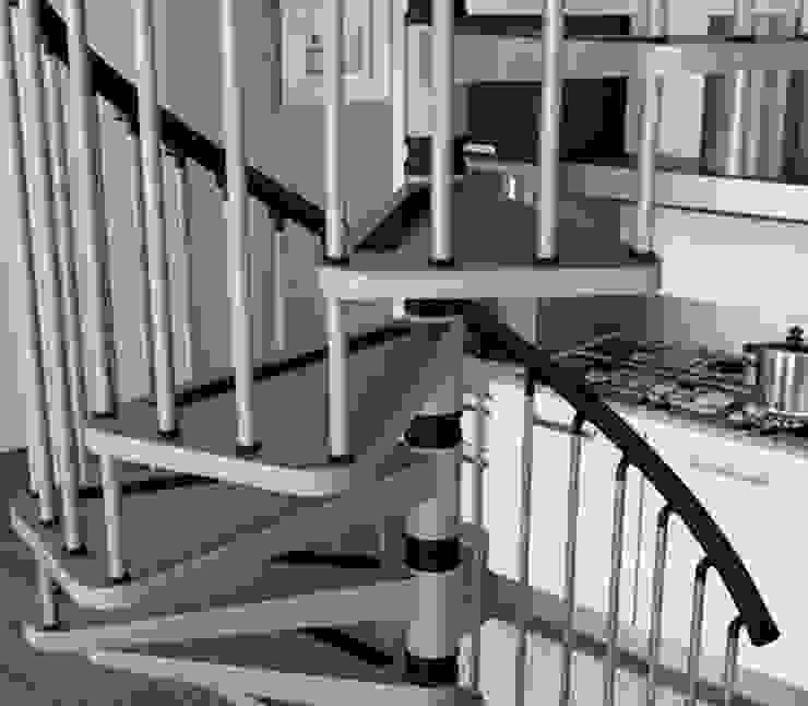 Antiderrapante para mayor seguridad de RINTAL Moderno Metal