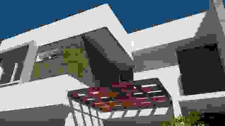Pergolado Casas modernas por WB Arquitetos Associados Moderno