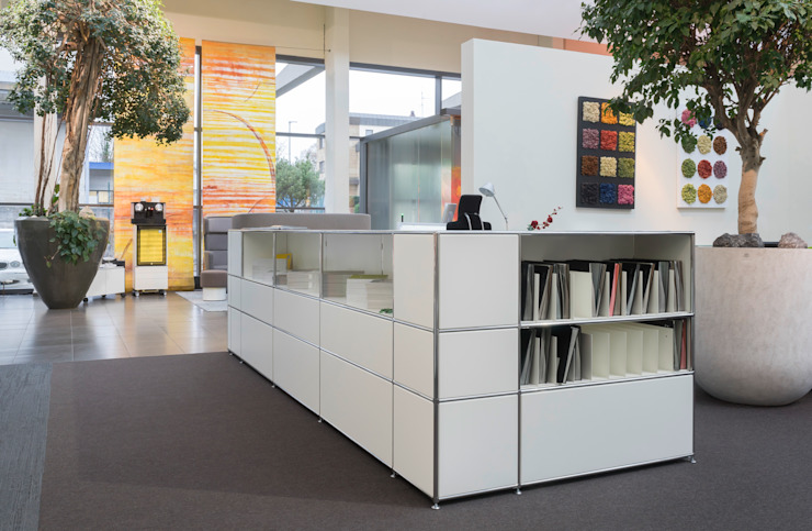 Thekenmöbel mit vielseitiger Nutzung Ausgefallene Geschäftsräume & Stores von PFERSICH Büroeinrichtungen GmbH Ausgefallen