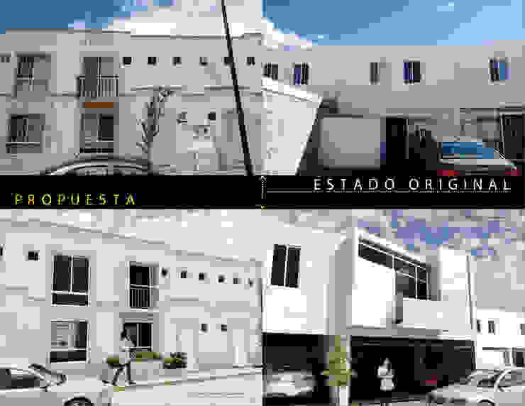 AMPLIACIÓN Y REMODELACIÓN CASA EL DORADO. Comparativa de Flores Rojas Arquitectura