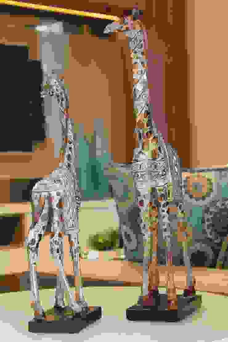 Sala de estar e jantar – Inspiração Turquesa por Daiana Oliboni Design de Interiores Moderno