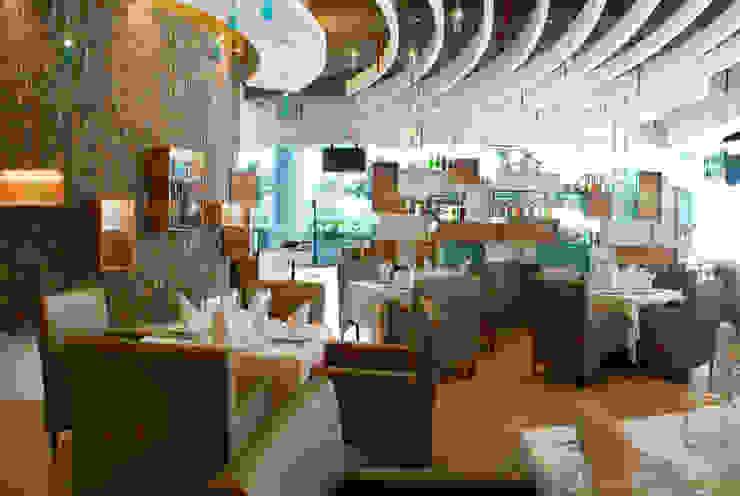 Restaurante El puntal Salones modernos de DIN Interiorismo Moderno