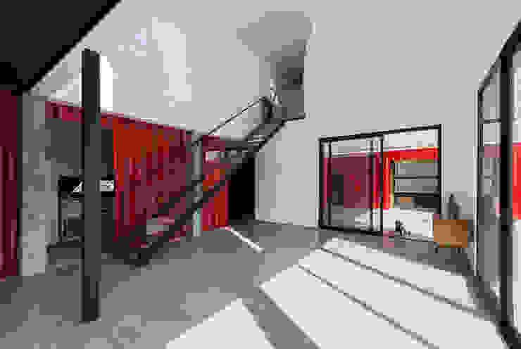 Casa Container Livings modernos: Ideas, imágenes y decoración de estudioscharq Moderno