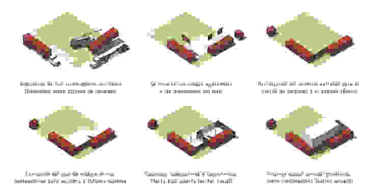 Nowoczesne domy od estudioscharq Nowoczesny