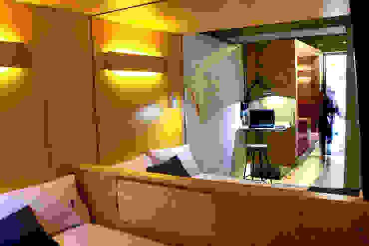 Modern style bedroom by DIN Interiorismo Modern