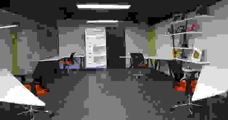 Casa Begalg Estudios y despachos modernos de DIN Interiorismo Moderno