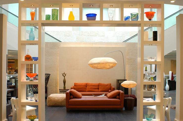 Salas de estar  por DIN Interiorismo , Moderno