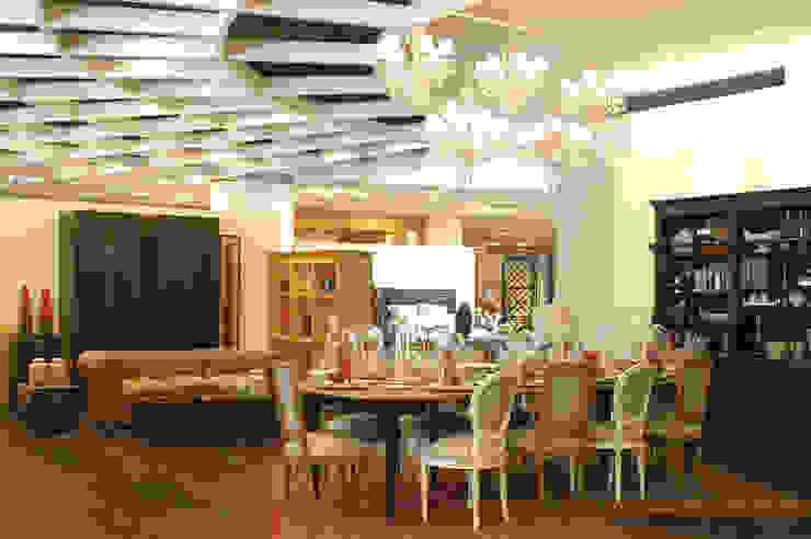 Casa Palacio Comedores modernos de DIN Interiorismo Moderno