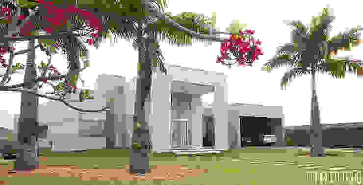 Casas minimalistas de Marcus Leão Arquitetura Minimalista