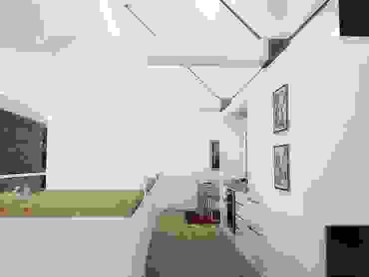 Casa – Taller RRA Arquitectura Cocinas de estilo minimalista Madera Blanco