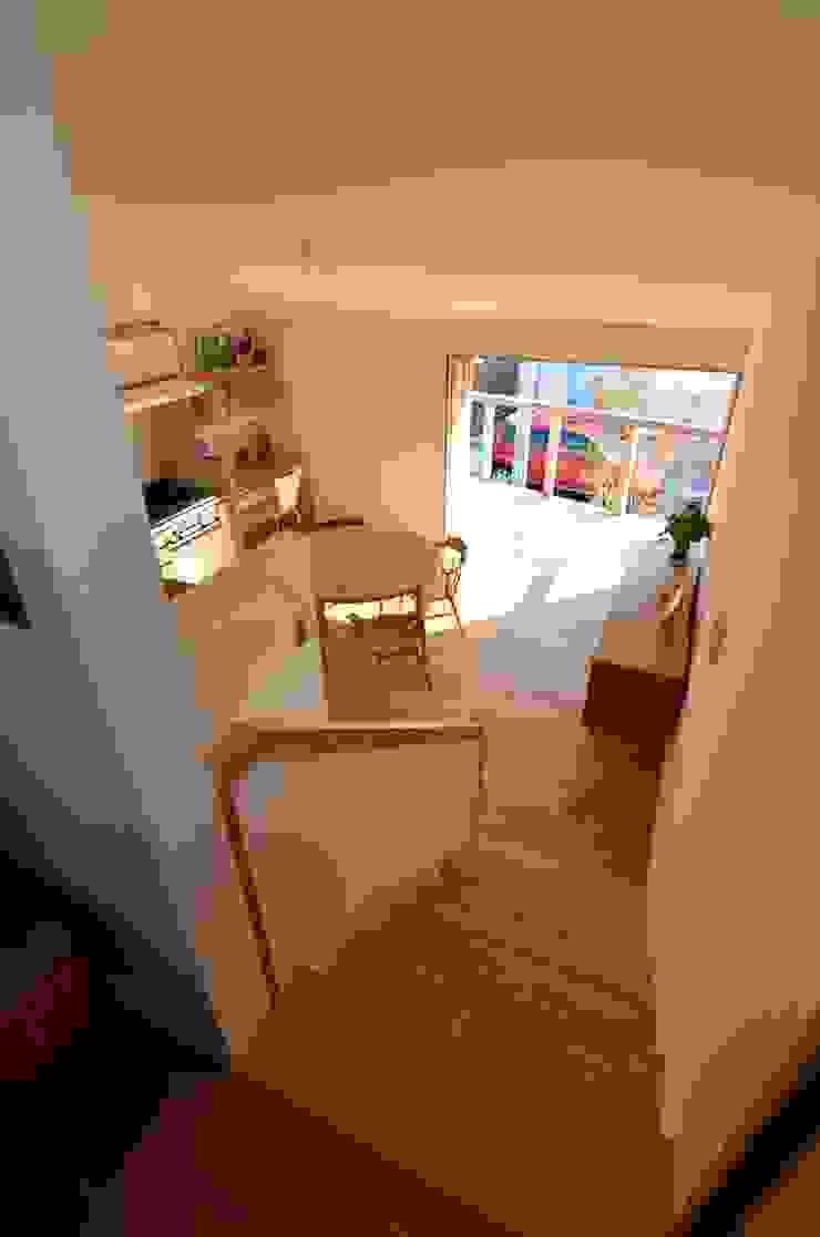 あつみづのいえ インダストリアルデザインの ダイニング の 清建築設計室/SEI ARCHITECT インダストリアル