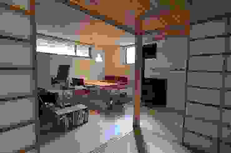 あつみづのいえ インダストリアルデザインの 書斎 の 清建築設計室/SEI ARCHITECT インダストリアル