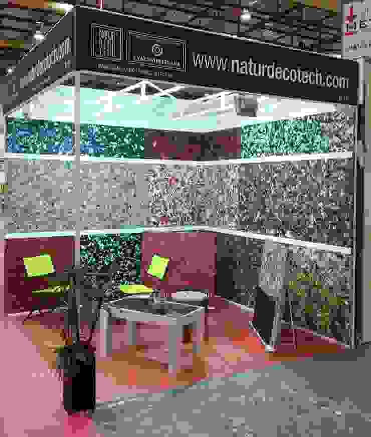 NaturDecoTech - Painéis 100% em Couro por J. VAZ PINHEIRO LDA Moderno Pele Cinzento