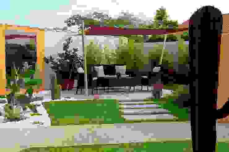 Modern garden by CONCEPTUELLES PAYSAGE ET DECORATION Modern