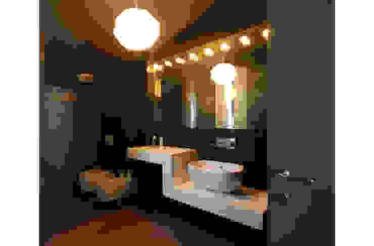 STUDIO DI ARCHITETTURA RAFFIN Ванна кімната Чорний