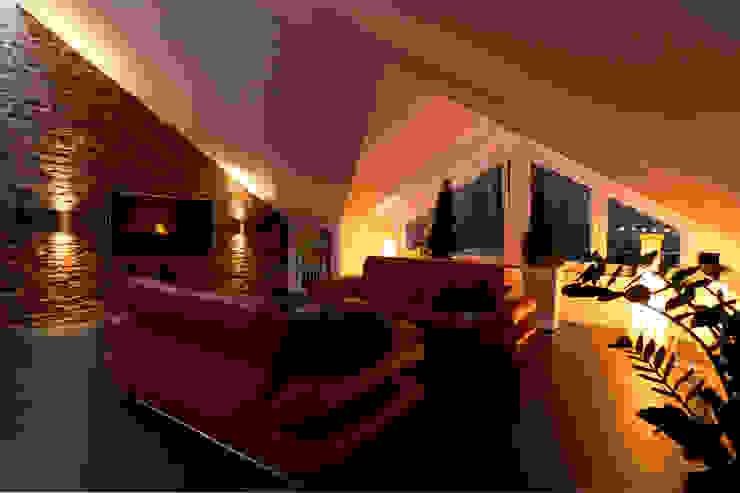 Modern living room by casaio | smart buildings Modern