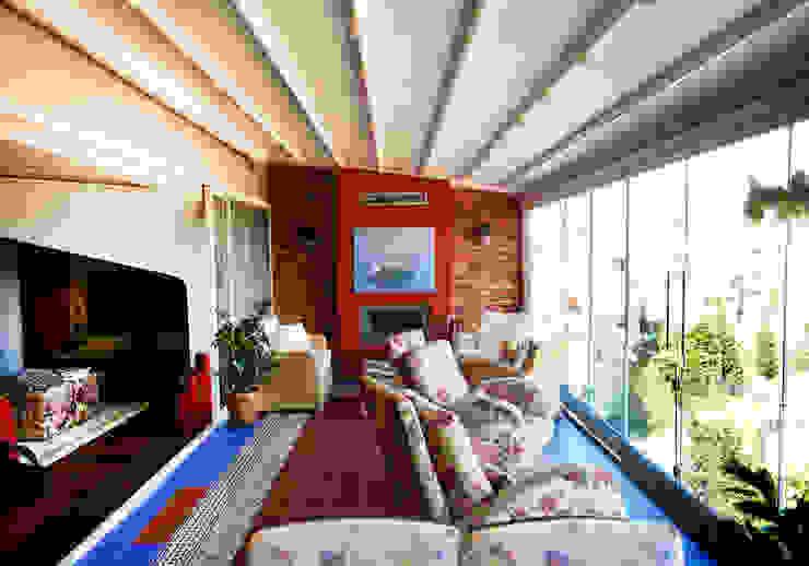 Modern Terrace by İndeko İç Mimari ve Tasarım Modern