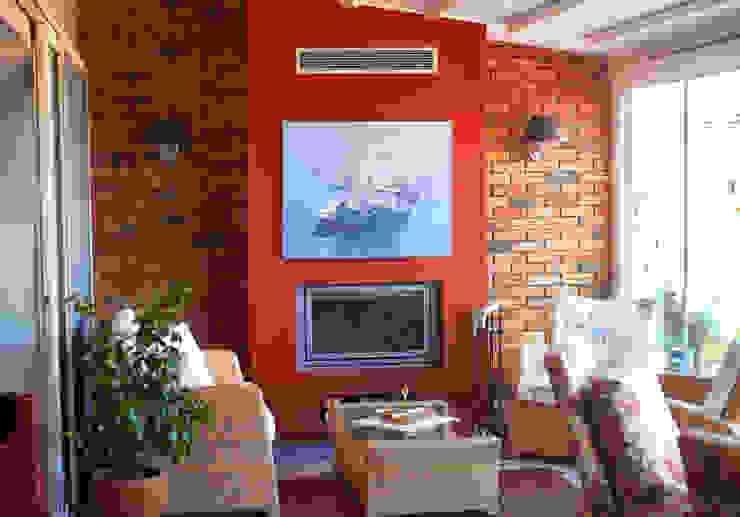 Etiler Teras Modern Balkon, Veranda & Teras İndeko İç Mimari ve Tasarım Modern