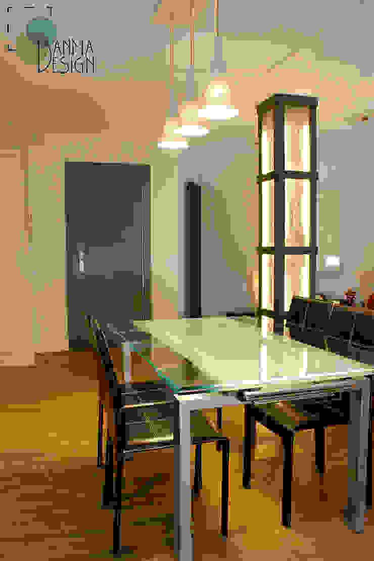 Vivienda Ciudades Pasillos, vestíbulos y escaleras de estilo moderno de Danma Design Moderno Hormigón