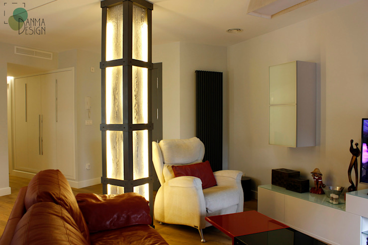 Modern living room by Danma Design Modern Iron/Steel