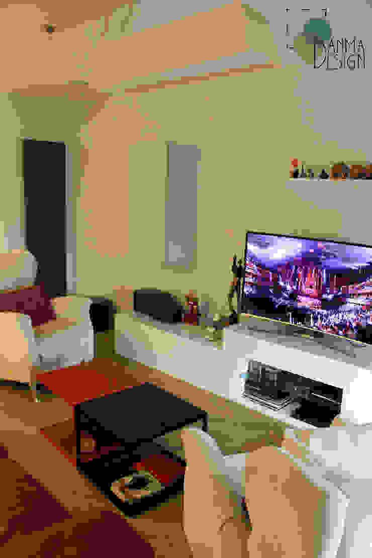 Vivienda Ciudades Salones de estilo moderno de Danma Design Moderno